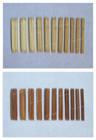 bamboo knitting needles - Sizes Bamboo Knitting Needles DIY Craft Yarn Tool Double pointy ends sets LA0338