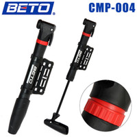 Wholesale 2015 New Mini Portable Cycling Mountain Road MTB Bike Bicycle Tire Inflator Air Pump with Bracket BETO CMP