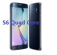 Wholesale 2016 inch S6 s6 edge MTK6582 QuadCore Android G RAM GB ROM show fake G lte cellphone