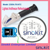 antifreeze test - Hand Held illumination Lighted Antifreeze Refractometer ZGRA ATC Antifreeze Coolant testing Adblue Black Grip