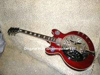 Wholesale High Quality Newest Dobro Resonator Red Electric Guitar Best Musical instruments