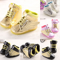 Wholesale Kind Baby Shoe - Wholesale-Free shipping baby shoes Retail new all kinds of newborn baby shoes newborn boys and girls shoes toddler shoes soft bottom