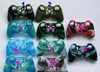 Wholesale 11 color Soft Silicone Gel Rubber Case Skin Grip Cover For SONY Playstation PS3 CMicrosoft Xbox One Xbox Wireless Controller set