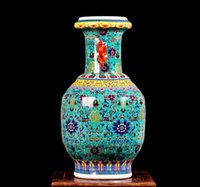 ancient chinese ceramics - Sitting room european style decorative Chinese ears vase pastel creative Europe type restoring ancient ways ground vase