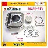 Wholesale jianshe bashan cc ATV loncin air cooled cylinder assy cylinder block assembly mm piston ring set order lt no track