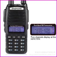 Wholesale Walkie Talkie Pair UHF VHF Radio Scanner For Portable CB Radio Automotivo Car two way Ham Radio Transceiver Baofeng uv