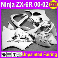 Wholesale 7gifts Unpainted Full Fairing Kit For KAWASAKI NINJA ZX R ZX6R ZX R R ZX636 Fairings Bodywork Body