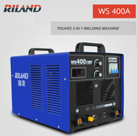 Wholesale TIG Wlding Machine Weld mm Thick Steel Plate Current A TIG Welder WS400A TIG MMA in Water Cooling Inverter Welding Machine