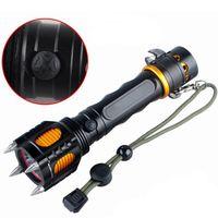 Wholesale Tactical Flashlight Lumens Lanterna Edc Flashlight Torch CREE XML T6 LED Self Defense LED Flashlight