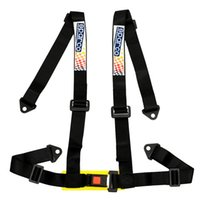 Wholesale Hot Universal Vehicle Point Racing Sport Safety Harness Seat Belt H Style Bolt In Black High quality