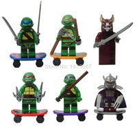 other action hands - Toys For Children High quality pieces Teenage Mutant Ninja Turtles Action Figure hand done tmnt Toy