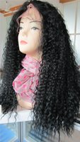 kinky curl lace wig - High Quality Lace Wigs Kinky Curl Indian Remy Hair Wigs quot Density Fashion Lace Human Hair Wigs SIF