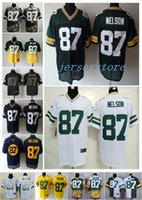 packer jersey - NEW Jordy Nelson Jersey Stitched Packers Jerseys Cheap Size M XXXL discount football jerseys Custom Limited Elite Game Embroidery