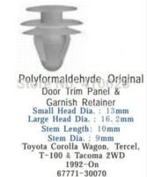 auto latches - auto clip door trim panel amp garnish retainer for toyota M48392 door latch door bouncer door wall
