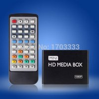 Wholesale Details about USB HD HDMI Mini Multi Media Player Box TV Display with Remote Control AV Out RY45