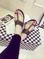 att green - New Arrivals Flat Heel PU Flip flops Sandals ATT US Womens Ladies Shoes