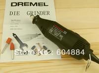 Wholesale New DIY Dirlls Mini mill Grinding Machine Engraving Pen Electric Drill For Deremel Black