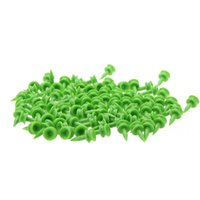 Wholesale 100 Double deck Golf Tees Plastic mm Green Golf Tee Holder Golf Ball Accessories Y0329