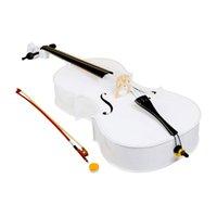Wholesale 4 Wood Cello Bag Bow Rosin Bridge White58086 ST ST
