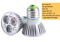 Wholesale 2014 new arrivel W DC AC V Power Supply MR16 Focus Warm White LED Bulb Spot Light Energy Saving B19 SV000234