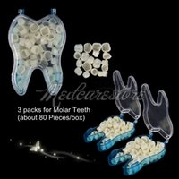 Wholesale 3 Packs Dental Temporary Crown Material For Molar Teeth Dental Care Teeth Whitening with