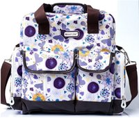 Wholesale Versatile Single Shoulder Mummy Bag Fashion Mother Baby Bag Baby Diaper Nappy Changing Bag Backpack