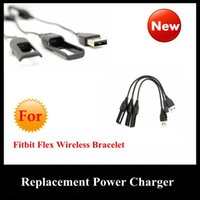 Wholesale 2015 New Fitbit Flex USB Replacement Power Charger Charging Cable Cord for Fitbit Flex Wireless Bracelet Wristband