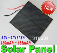 Wholesale V V W Solar Panel Solar cell Solar System fast Shipping