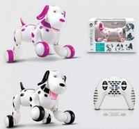 Wholesale New arrival wireless remote control intelligent robot dog RC smart dancing walking dog Electronic dog