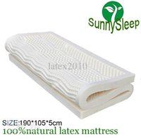 Wholesale Hotsell natural latex material dunlop seven zone mattress block size CM