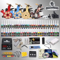 USA tattoo gun machine - Complete Tattoo Kits Tattoo Gun Machines Tattoo Inks Sets Tattoo Power Supply Tattoo Needles HW GD