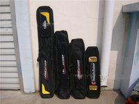 Wholesale The two layer three layer bag back side cheaper bag rod package without support rod fishing rod bag hql