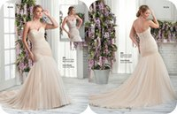 ballerina pictures - Plus Size Wedding Dresses Spring Ballerina Beaded Mermaid Bridal Gowns Criss Cross Sheer Skirts Overskirts Wedding Dresses