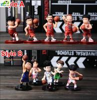 akira movie - Anime Slamdunk Sakuragi Hanamichi Akira Sendoh Play Basketball PVC Action Figure Collection Model Kids Toy Doll cm