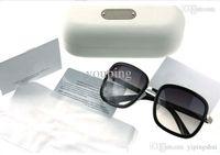 big glasses trend - CL2148 Big Box Fashion Clear Sun Glasses With PVC Box New High Quality UV400 Trend Vintage Sunglasses Women Brand Designer