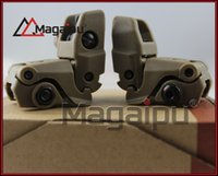 airsoft rear sight - Back up Sight Gen Front And Rear Folding Sights For Airsoft mm Tan and Blck