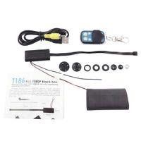 Wholesale T186 Full HD P Spy Cameras mini DV Camcorder DIY Module Hidden Spy CCTV Camera with Remote Control