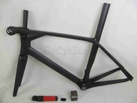 Wholesale 2015 new aerodynamic racing frame carbon road bike frames in clear coat bicycle frameset with INTEGRATED AERO carbon STEM