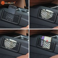 Wholesale New Universal Car Seat Side Back Net Storage Bag Phone Holder Pocket Organizer
