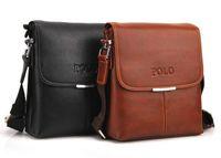 Wholesale Hot selling men POLO messenger bag classic design leather bag brand shoulder bag Laptop Bags tablet PC BagFit For ipad macbook