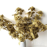 Wholesale Plating five small mesh flower luxurious gold and silver rose European floral flower Artificial flower home decoration new