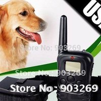 Wholesale 1Set X A M LV Shock Rechargeable and Waterproof Dog Training Collar LCD Display For Dogs