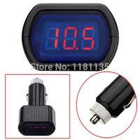 Wholesale Brand New DC Digital LED Car Truck Battery Voltage Electric Meter Monitor Indicator Gauge Voltmeter V V