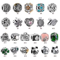 Wholesale Romacci S925 Sterling Silver Bead CZ Diamond for mm Lucky Charm Bracelet DIY Fine Fashion Women Jewelry Types for Option order lt no tra
