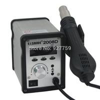 Wholesale SAIKE D V V W LCD Digital Lead Free Hot Air Rework Soldering Station Heat Gun Welding Desoldering Repair