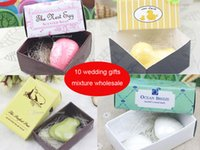 Wholesale 2016 wedding favors bird soap gift for bridesmaids groomsmen guests flower girls wedding party favors gifts box
