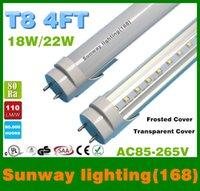 Cheap LED T8 UL 6500k 4ft led t8 light tubes 22W 2700LM SMD2835 Light Lamp Bulb 1.2m 1200mm 85-265V led lighting fluorescent lamp