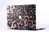 Wholesale 2014 New Fashion Leopard Pattern Hard Shell Case Protector Cover for MacBook Air11