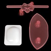 bag cutters - 3PCS set Plastic Fondant Ladies Clutch Bag Handbag Mold Cookie Cutter Cake Decorating Tool LIF_514