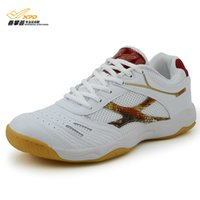 Wholesale New Arrival Spanrde Professional Non Slip Rubber Outsole Table Tennis Shoes Shock Absorbant Sneakers For Men And Women B217